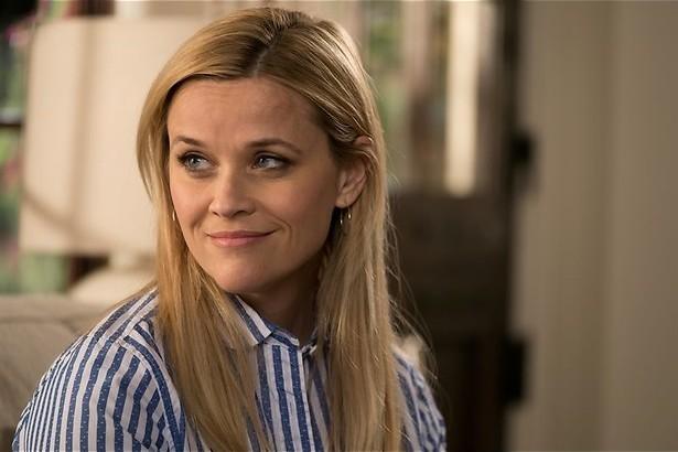 Reese Witherspoon heeft een groen blaadje