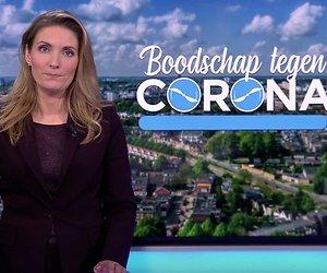 Hart van Nederland gebruikt drone voor coronaboodschappen