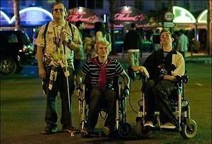 Een roadtrip met drie gehandicapten