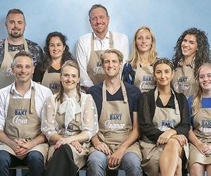 Dit zijn de 10 bakkers van Heel Holland Bakt 2019