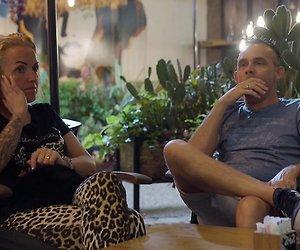 Henk en Chantal op Schiphol