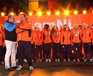 De TV van gisteren: 1,2 mijoen voor schreeuwerige huldiging Olympische sporters
