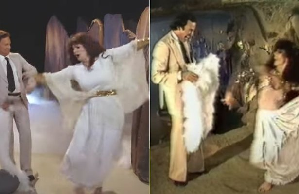 Hilarisch: Optreden Julio Iglesias in TV Kantine identiek aan origineel