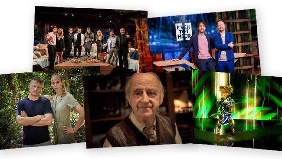 Deze vijf programma's maken kans op de Gouden Televizier-Ring 2020
