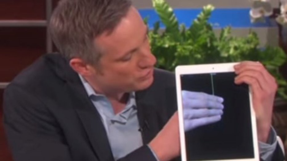 YouTube-hit: iPad Magician bij Ellen DeGeneres