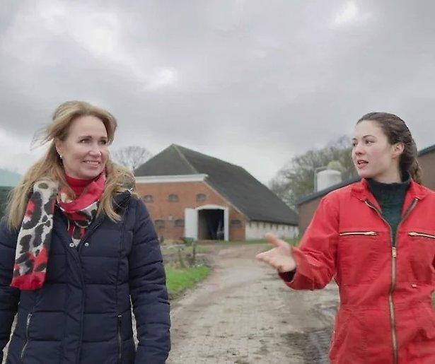 Helga van Leur wordt heel blij van Iedereen Kan Het!