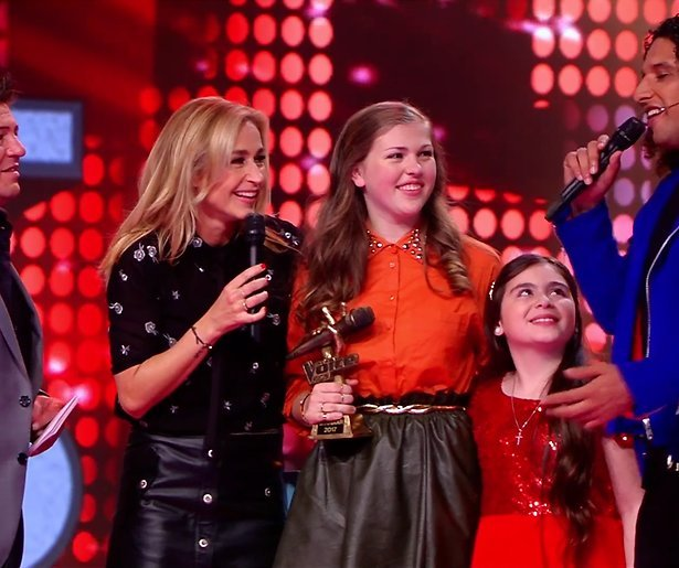 Iris wint Voice Kids 2017