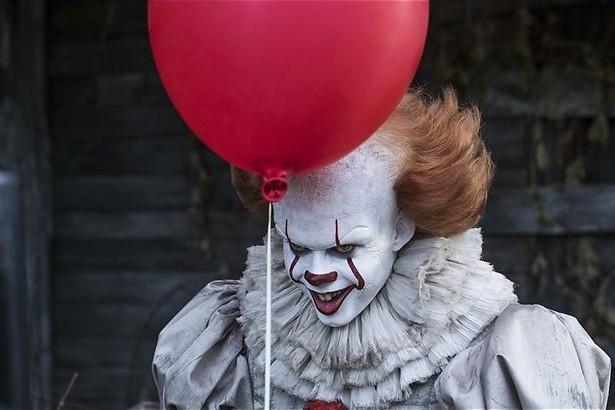 De creepy clown van Stephen King