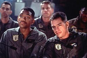 Aliens meppen met Will Smith