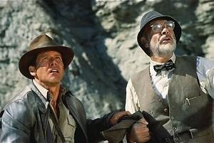 Harrison Ford gaat Sean Connery redden