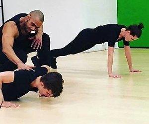 Buddy Vedder en Robin Martens trainen voor Dance Dance Dance