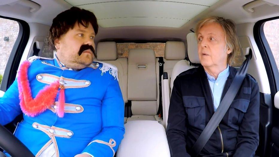 Videosnack: James Corden bezoekt Liverpool met Paul McCartney