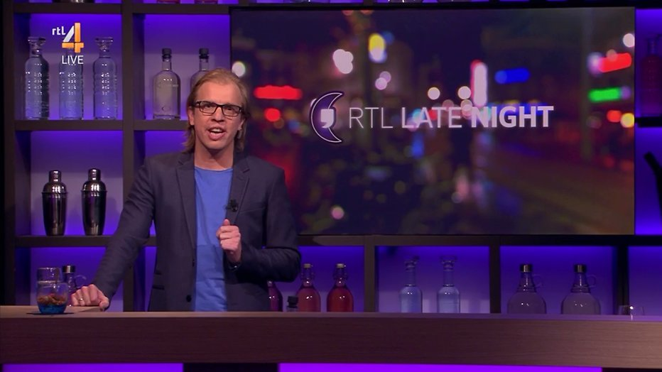 Jan Jaap van der Wal niet ontevreden over RTL Late Night