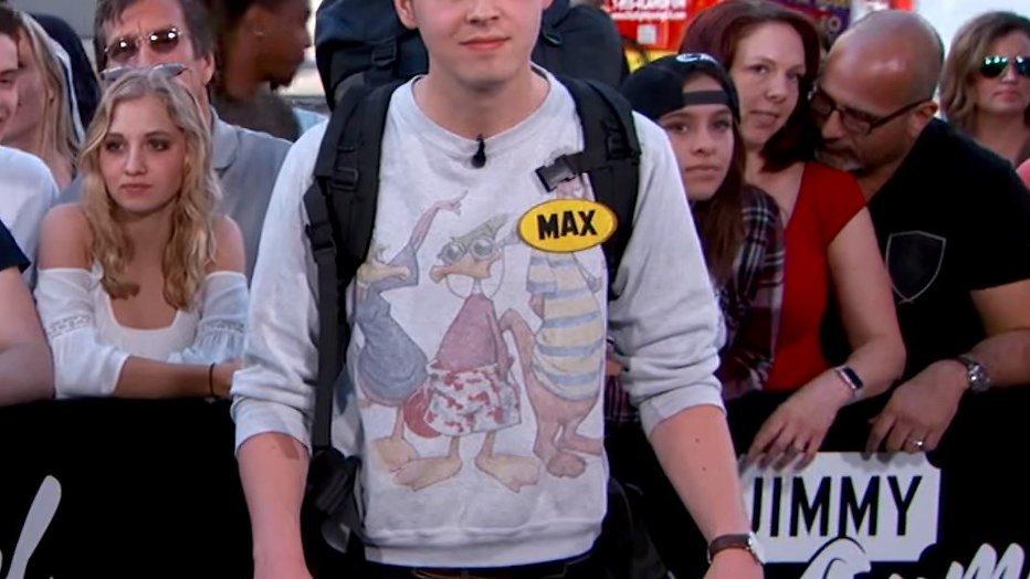 YouTube-hit: Nederlandse Max bij Jimmy Kimmel Live!