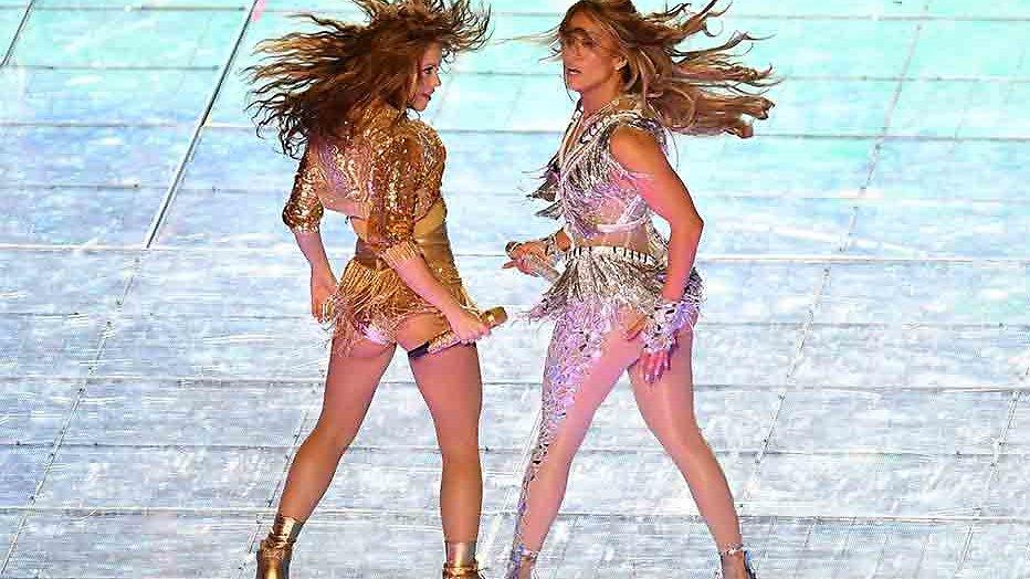 Shakira en Jennifer Lopez