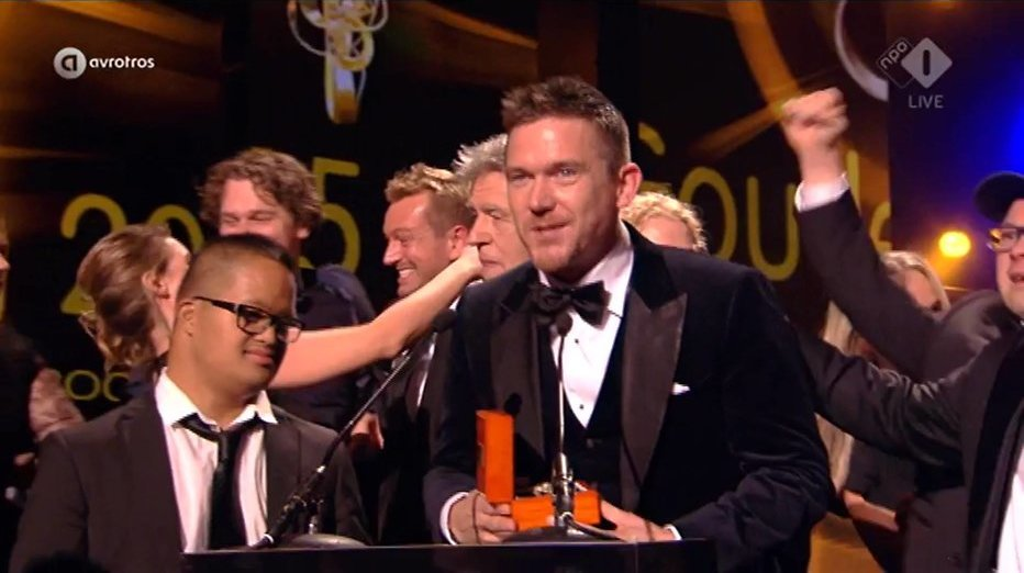 SynDROOM wint de Gouden Televizier-Ring 2015