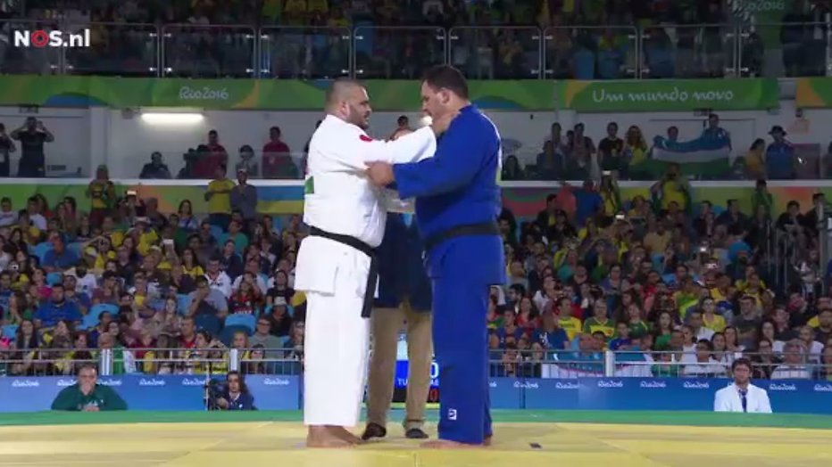 Judofinale op Paralympische Spelen duurt 2 seconden