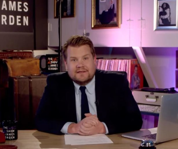 James Corden presenteert emotionele special