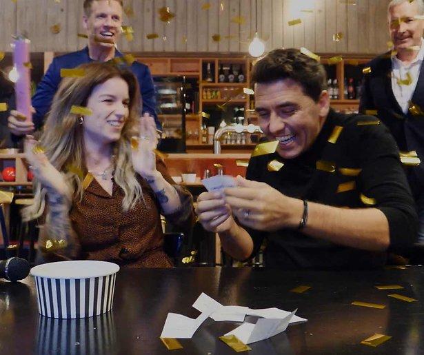 Videosnack: Dionne Slagter verrast Jan Smit met Gouden Televizier-Ring nominatie