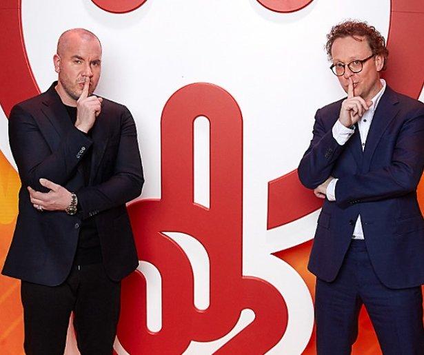 SBS6 geeft duo Dennis van de Ven en Jeroen van Koningsbrugge spelshow