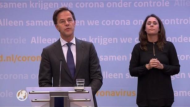 Persconferentie coronacrisis Rutte en De Jonge