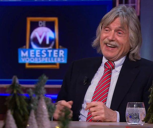 Johan Derksen ambassadeur van politieke partij