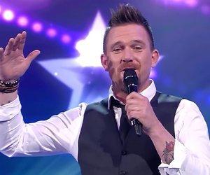 Johnny de Mol draagt opvallende oogmakeup bij finale Holland's Got Talent