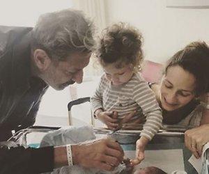 Jeff Goldblum verwelkomt tweede zoontje