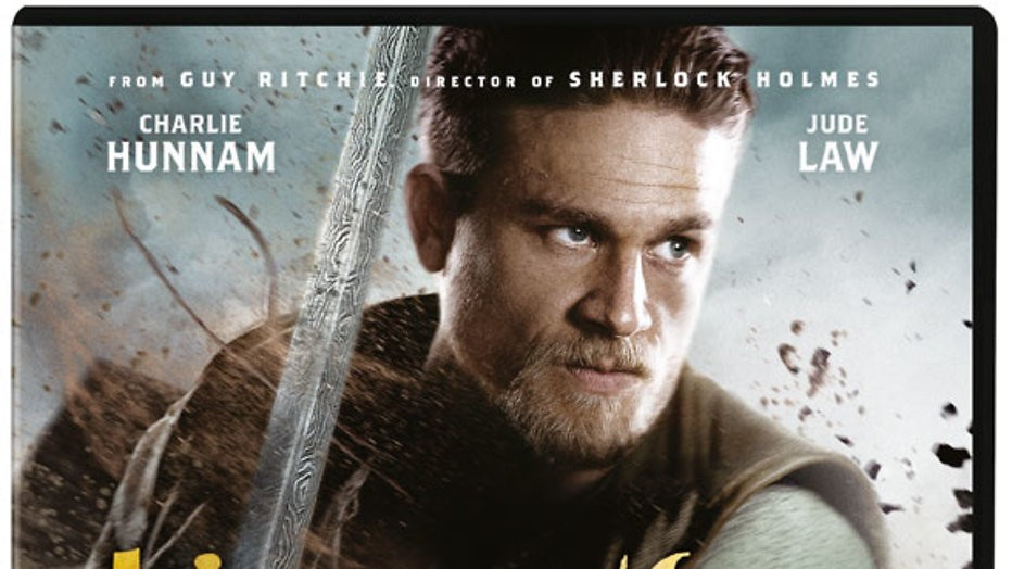 Win 5x dvd + T-shirt King Arthur