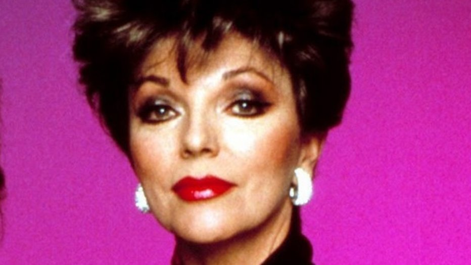 Joan Collins openhartig over verkrachting