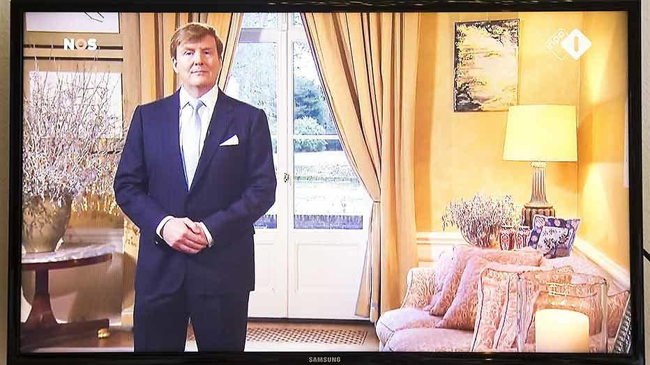 Kersttoespraak Willem-Alexander verhuist dit jaar