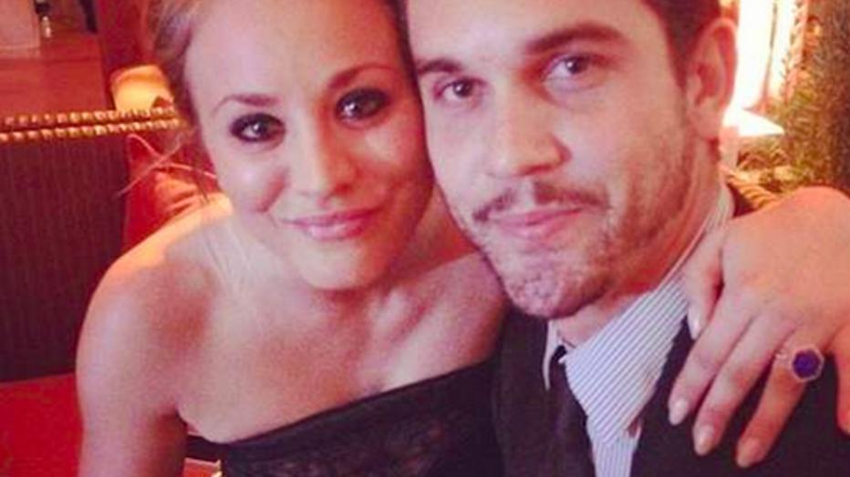 Big Bang Theory-actrice Kaley Cuoco gaat scheiden