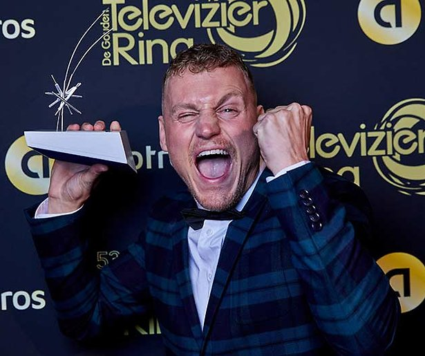 Kaj Gorgels wint Televizier Talent Award