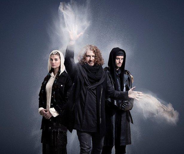 Maan, Jim en Brace in Kerst met de Zandtovernaar