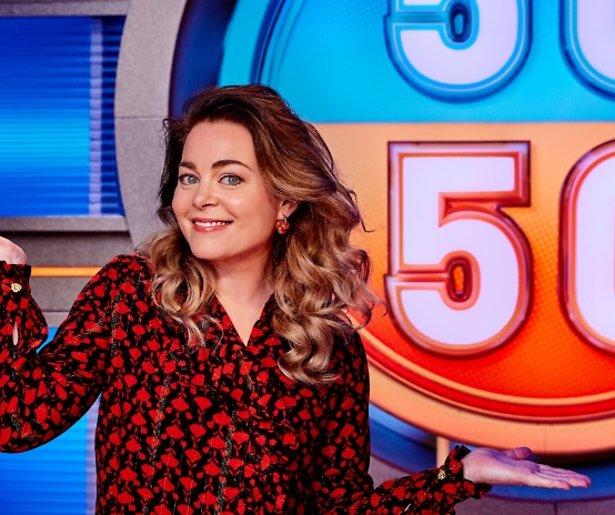 Kim-Lian van der Meij nieuwe presentator 50/50