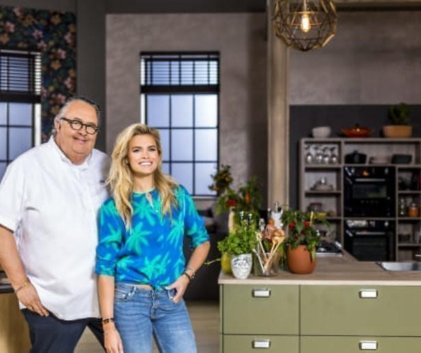 Kookshow met Nicolette van Dam en Julius Jaspers bij SBS