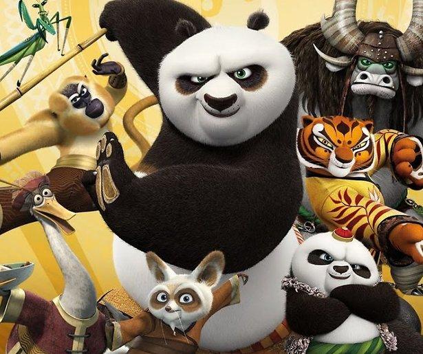 Jack Black als kungfuënde panda