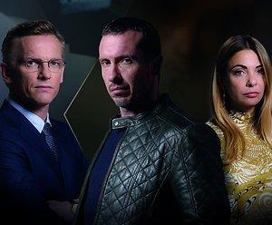 Barry, Georgina en Jacob over Klem