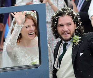 Kit Harrington en Rosie Leslie getrouwd