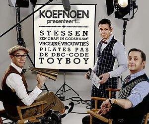 Een kijkje op de set bij Koefnoen presenteert