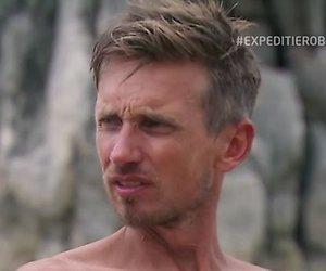 Koos van Plateringen doodsbang bij eilandraad Expeditie Robinson