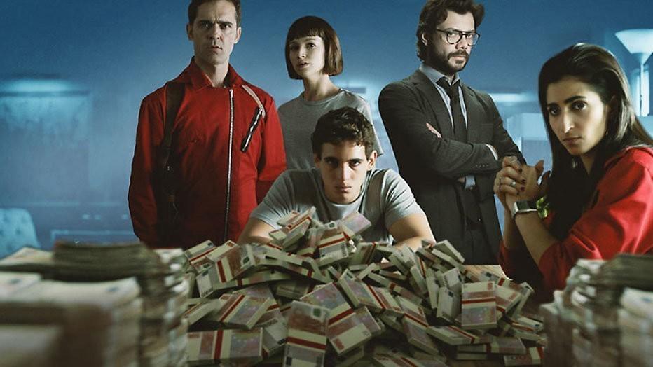 Vierde seizoen voor Netflix-hit La Casa de Papel
