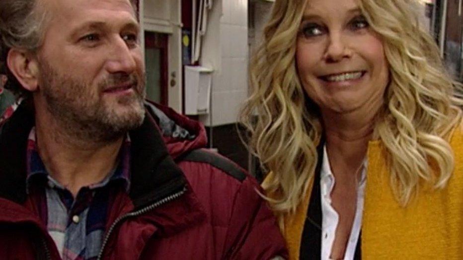 Linda de Mol geeft Piet Paulusma een restyling