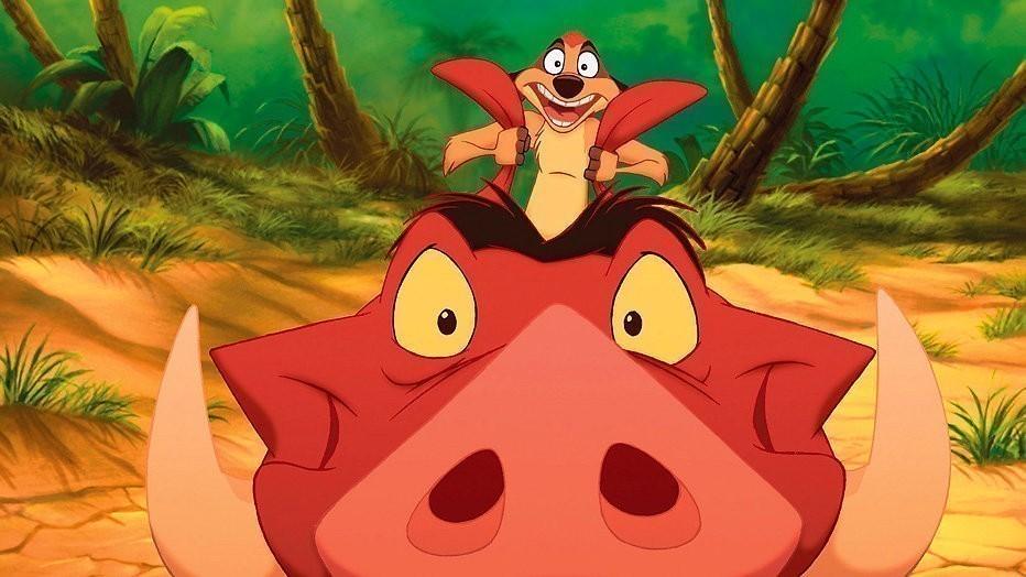 Timon en Pumba
