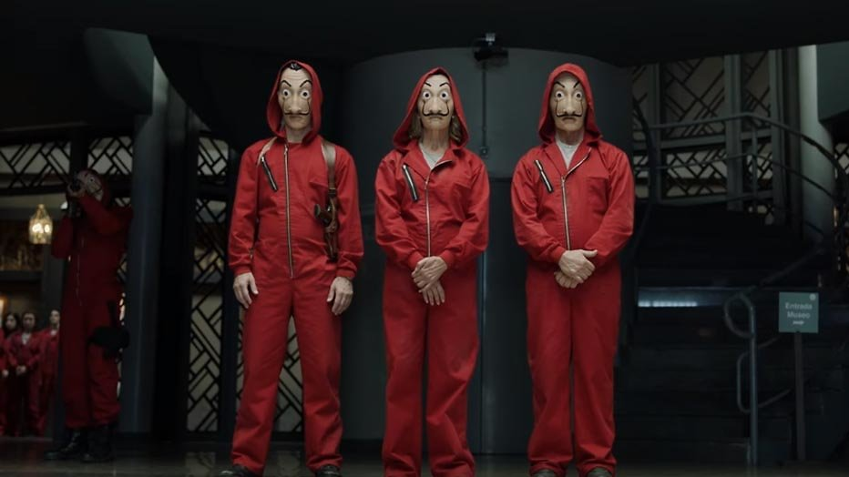 Netflix bestelt nieuwe serie van bedenker La Casa de Papel