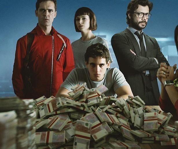Casa de Papel seizoen 3 al in juli op Netflix
