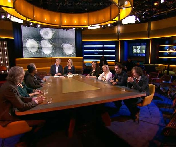 Het corona-effect: Alle talkshows zonder publiek tot eind maart