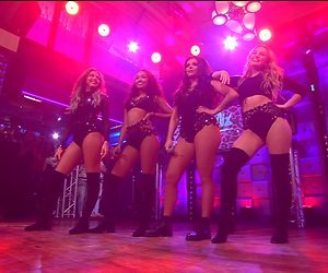 Niet iedereen enthousiast over optreden Little Mix bij RTL Late Night