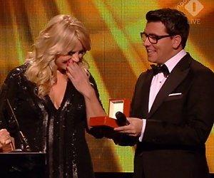 Linda de Mol wint Televizier Oeuvre-Ring