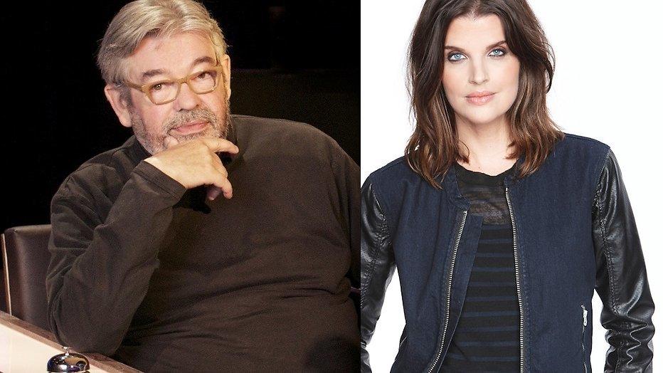 Manon Meijers prijst Maarten van Rossem om 'signature look' in De Slimste Mens